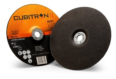 3M™ Cubitron™ II Cut and Grind Wheel T27 28761, 9 in x 1/8 in x 7/8 in, 10 per inner, 20 per case