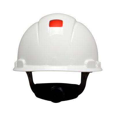 3M™ Hard Hat  H-701R-UV, with UVicator and 4-Point Ratchet Suspension, White