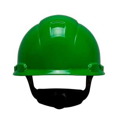 3M™ Hard Hat H-704R-UV, with UVicator and 4-Point Ratchet Suspension, Green