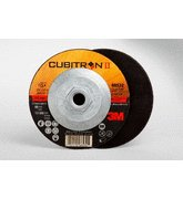3M™ Cubitron™ II Cut-Off Wheel T27 Quick Change 66532, 4.5 in x .09 in x 5/8-11 in, 25 per inner, 50 per case