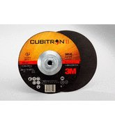 3M™ Cubitron™ II Cut-Off Wheel T27 Quick Change 66540, 6 in x .045 in x 5/8-11 in, 25 per inner 50 per case