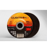 3M™ Cubitron™ II Cut-Off Wheel T27 66535, 4.5 in x .125 in x 7/8 in, 25 per inner, 50 per case