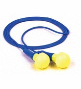 3M™ E-A-R™ Push-Ins™ Corded Earplugs, Hearing Conservation 318-1001 in Poly Bag