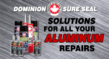 Dominion Sure Seal Aluminum Ad