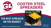 GL Enterprises Coster Steel Spreaders Ad